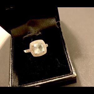 Jewelry - Aquamarine and white gold, 8